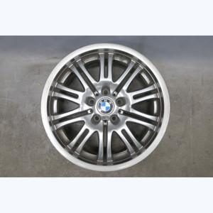 "2001-2006 BMW M3 Factory Front 18"" ///M Double Spoke Alloy Style 67 Wheel OEM - 30834"