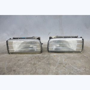 1992-1999 BMW E36 3-Series Factory ZKW Clear Fog Light Pair w/ Brackets OEM - 30856