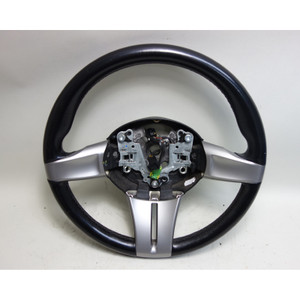 2003-2005 BMW E85 Z4 Roadster Early Factory Sports Steering Wheel Chrome OEM - 30873