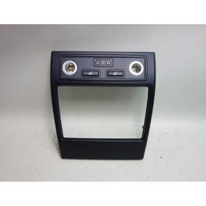 2007-2013 BMW E70 X5 SAV Center Console Rear Cover Trim for DVD Player Seat Heat - 30923