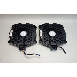 2007-2013 BMW E70 X5 F25 X3 Basic Stereo System Subwoofer Bass Speaker Pair OEM - 30927
