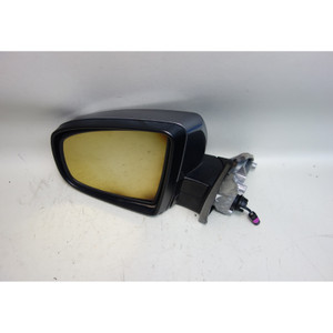 2007-2013 BMW E70 X5 SAV Left Outside Power-Fold Side Mirror Space Grey Top View - 30930