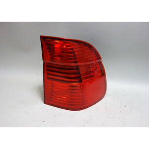 Damaged 2001-2003 BMW E39 5-Series Touring Wagon Right Rear Outer Tail Light OEM - 30942