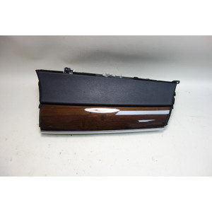 2010-2014 BMW E70 X5 E71 X6 Front Glove Box Assembly Black Dark Bamboo OEM - 30998