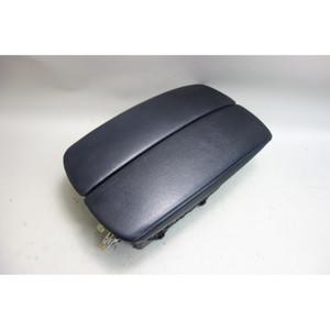 2007-2014 BMW E70 X5 E71 X6 Front Center Console Armrest Black Nevada Leather OE - 31000