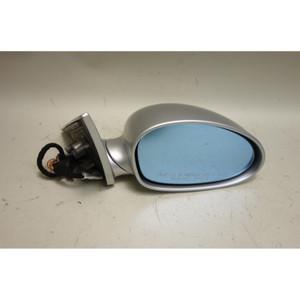 2001-2006 BMW E46 M3 ///M Right Outside Side Mirror Titanium Silver Memory OEM - 31004