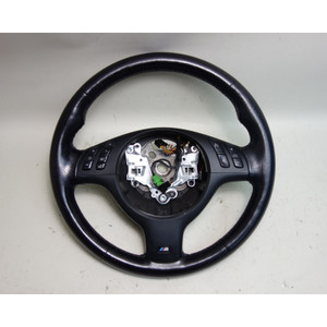 2001-2006 BMW E46 M3 E39 M5 Factory M Sports Leather Steering Wheel OEM - 31006