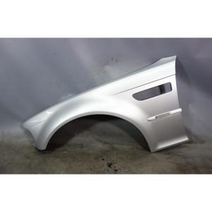 2001-2006 BMW E46 M3 Front Left Driver's Fender Quarter Panel Titanium Silver OE - 31020