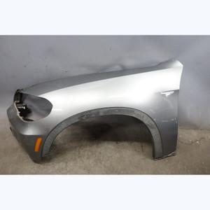 2007-2010 BMW E70 X5 SAV Early Left Front Fender Quarter Panel Space Grey OEM - 31026