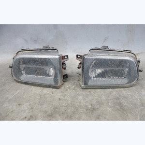 1998-2002 BMW E39 5-Series Z3 Early Factory Front Fog Light Pair w Broken Tab OE - 31210