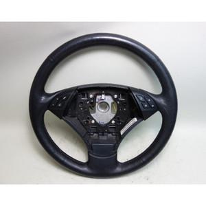 2008-2010 BMW E60 E61 5-Series Factory Leather Steering Wheel w Heat OEM - 31253