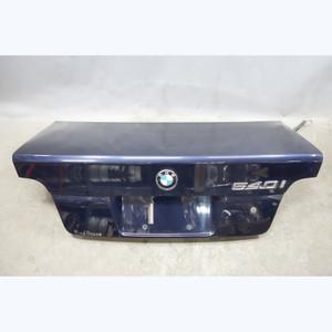 1997-2003 BMW E39 5-Series Sedan Rear Trunk Boot Deck Lid Orient Blue OEM - 31314