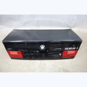 1989-1995 BMW E34 5-Series Sedan Rear Trunk Deck Boot Lid Black 2 OEM - 31316