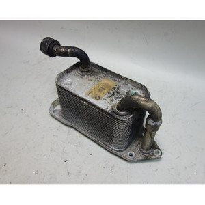 Damaged BMW S62 5.0L M5 Z8 ///M Engine Oil Cooler Heat Exchanger 2000-2003 OEM - 31324