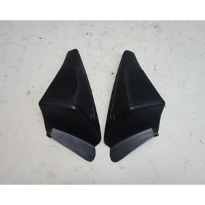 1993-1995 BMW E34 5-Series Factory Front Door A-Pillar Tweeter Speaker Pair Dent - 31325