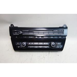 Damaged 2011-2016 BMW F10 5-Series Automatic Climate Control w Radio Head Unit - 31398