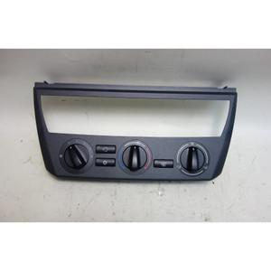 2004 BMW E83 X3 SAV Manual Analog Climate AC Control Panel Interface Grey OEM - 31400
