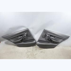 2012-2017 BMW F30 3-Series F31 4door Rear Interior Door Panel Trim Skins Black - 31460