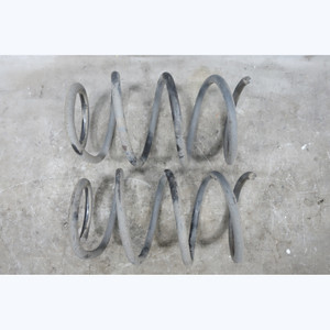 BMW E64 6-Series Factory Front Axle Coil Spring Pair Left Right 2004-2010 OEM - 31537