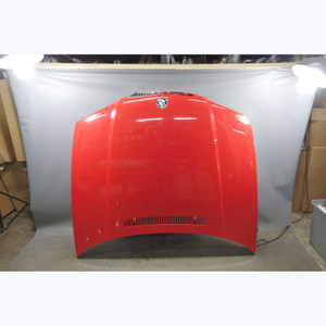 2000-2003 BMW E46 3-Series Coupe Convertible 2dr Hood Bonnet Panel Hellrot Red - 31558