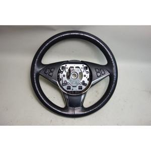 2006-2010 BMW E60 5-Series E63 Factory Sports Leather Steering Wheel w Heat OEM - 31561