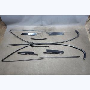 2006-2011 BMW E90 3-Series Sedan Gloss Black Shadowline Exterior Trim Set OEM - 31571