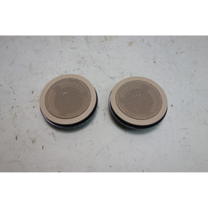 2000-2006 BMW E46 3-Series Convertible Harman/Kardon Rear Tweeter Speakers Beige - 31618