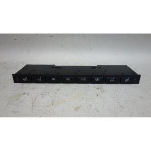 BMW E38 7-Series Front Center Console Switch Unit Heat Active DSC PDC EDC Shade - 31619