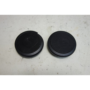 Damaged 1995-1999 BMW E36 3-Series Factory Front Door Tweeter Speaker Pair Black - 31641