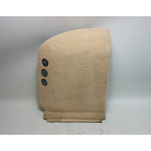 1999-2003 BMW E39 5-Series Touring Wagon Left Rear Lateral Trunk Carpet Biege OE - 31661