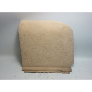 1999-2003 BMW E39 5-Series Touring Wagon Right Rear Lateral Trunk Carpet Biege - 31662