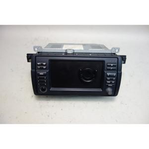 Damaged BMW E46 3-Series Factory Navigation GPS Screen w Cassette 2002-2006 OEM - 31672