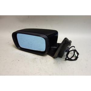 2000-2003 BMW E46 3-Series 4door Left Outside Side Mirror Jet Black 2 Memory OEM - 31673