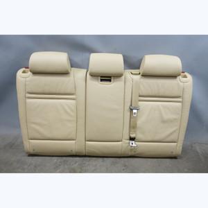 2007-2010 BMW E70 X5 SAV Rear 2nd Row Seat Back Rest Set Beige Leather OEM - 31709