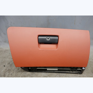 2008-2013 BMW E90 E92 M3 Coupe Sedan Glove Box Fox Red Extended Leather OEM - 31753