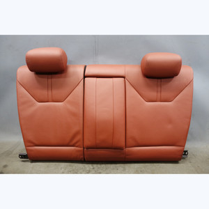 2008-2013 BMW E92 M3 Factory Rear Folding Seat Back Fox Red Novillo Leather OEM - 31758