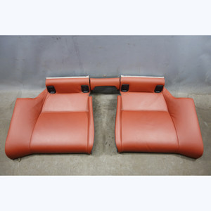 2008-2013 BMW E92 M3 Coupe Factory Rear Seat Bottom Bench Set Fox Red Leather OE - 31759