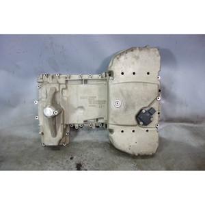 Damaged 2008-2013 BMW E90 M3 S65 4.0L V8 Engine Oil Pan w Cracks OEM - 31772