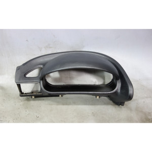 1996-2002 BMW Z3 Roadster Coupe Left Black Dashboard Cluster Dome Trim - 31825