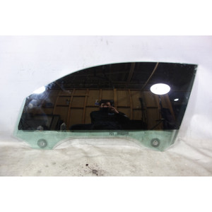 Damaged BMW F22 2-Series Coupe Left Front Driver's Window Glass w Scratches OEM - 32550