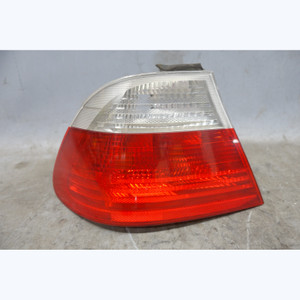 2000-2003 BMW E46 3-Series Coupe Left Outer Tail Light White w/o Bulb Tray OEM - 32683