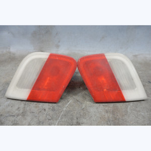 2000-2003 BMW E46 2dr Coupe Convertible Inner Trunk Tail Light Pair Clear OEM - 32685