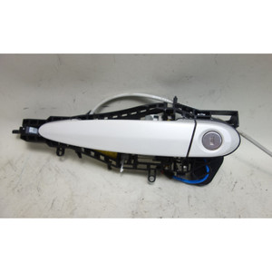 2014-2017 BMW F22 F23 2-Series Left Ext Outside Comfort Access Door Handle White - 32576