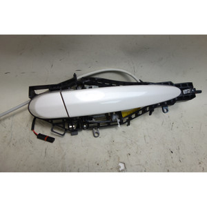 2012-2017 BMW F30 3-Series F22 Right Exterior Door Handle Comfort Mineral White - 32577