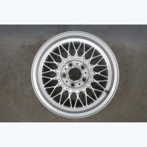 1977-2001 BMW E34 E38 Factory Style 5 16x8 Cross-Spoke Basketweave Wheel OEM - 32704