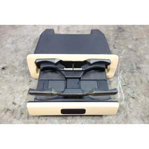 1996-2001 BMW E38 7-Series Rear Seat Deployable Drink Cup Holder Sand Beige OEM - 32717