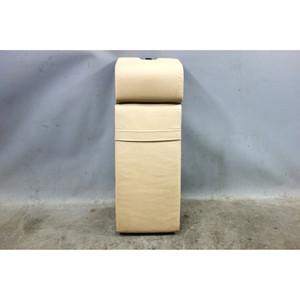 1995-2001 BMW E38 7-Series Rear Center Armrest Sand Beige Leather OEM - 32718