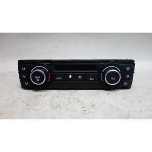 Damaged 2010-2011 BMW E90 3-Series E82 Automatic Climate Control Interface Panel - 32608