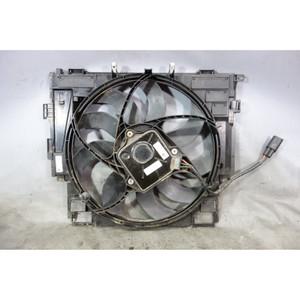 Damaged 2012-2016 BMW F10 528i N20 4-Cyl Factory Engine Cooling Fan Electric OEM - 32610