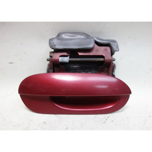 95-98 BMW E38 7-Series Right Passenger Exterior Outside Door Handle Calypso Red - 32788